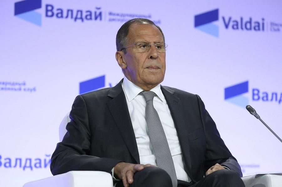 Vystúpenie S. Lavrova na Valdajskom diskusnom klube o politike Ruska na Blízkom a Strednom východe