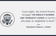 Vystúpenie D. Trumpa v súvislosti so smrťou al-Baghdádiho