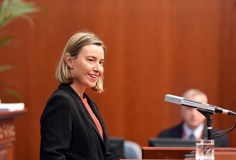 """Prejav F. Mogheriniovej na Oxfordskej univerzite """"Úloha EÚ ako globálneho hráča pre mier a stabilitu"""""""