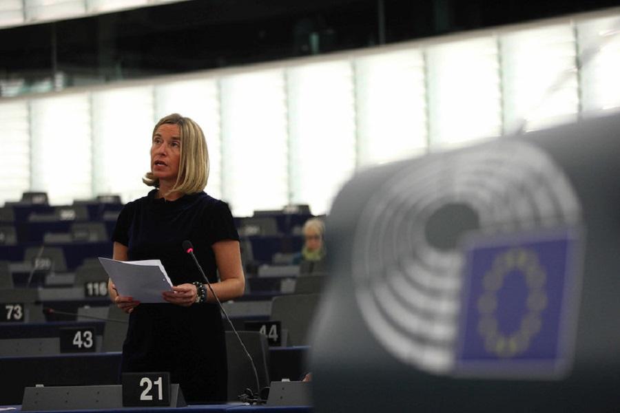 Prejav F. Mogheriniovej na výročnej konferencii EUISS