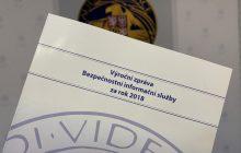 Výročná správa o činnosti Bezpečnostnej informačnej služby ČR za rok 2018