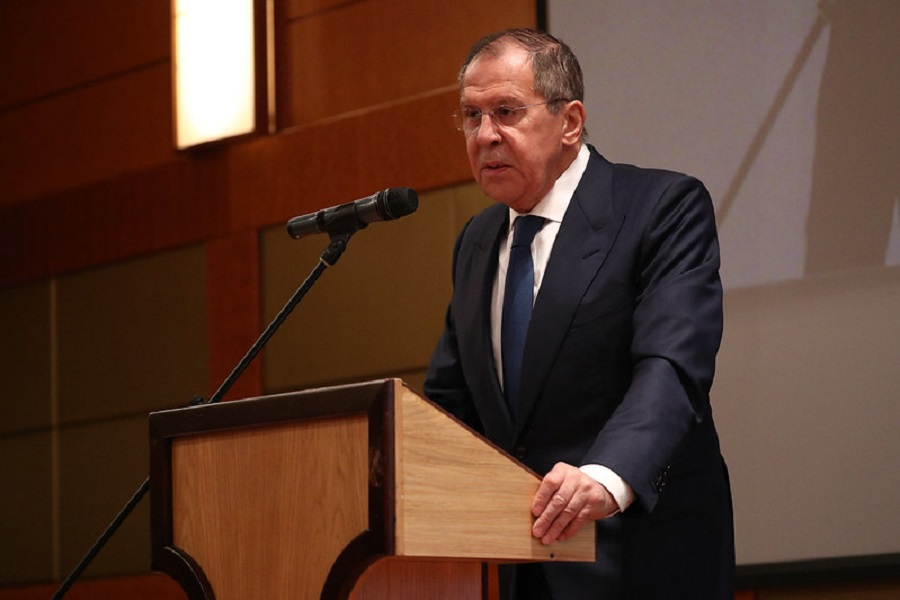 """Rozhovor S. Lavrova pre """"Rossiya 24"""""""