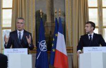 Spoločná tlačová konferencia Macron – Stoltenberg /plné znenie/
