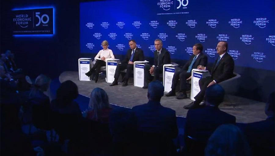 Budúcnosť NATO /panelová diskusia na Svetovom ekonomickom fóre v Davose/