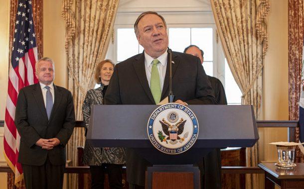 """Prejav ministra zahraničných vecí USA M. Pompea """"Silicon Valley a národná bezpečnosť"""""""