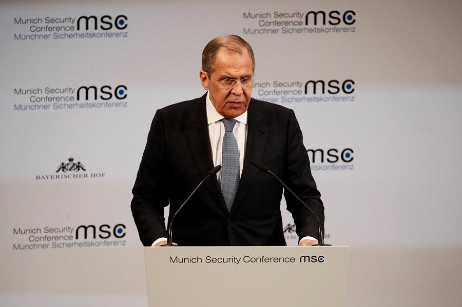 Vystúpenie ruského ministra zahraničných vecí S. Lavrova na Mníchovskej bezpečnostnej konferencii