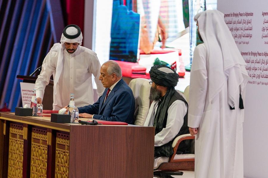 Dohoda o prímerí medzi USA a Talibanom