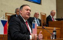 Prejav ministra zahraničných vecí USA M. Pompea v Senáte ČR