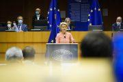 Správa predsedníčky Európskej komisie von der Leyenovej o stave Únie prednesená na zasadnutí Európskeho parlamentu