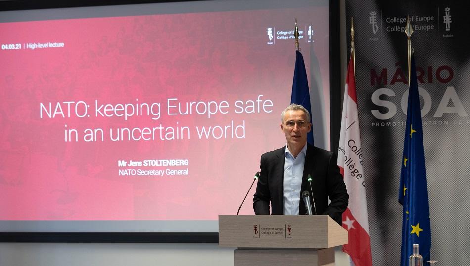 Prejav J. Stoltenberga – NATO: zaistenie bezpečnosti Európy v neistom svete