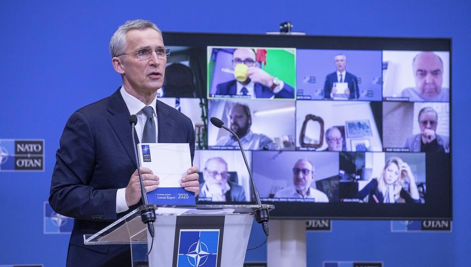 Výročná správa GT NATO J. Stoltenberga za rok 2020