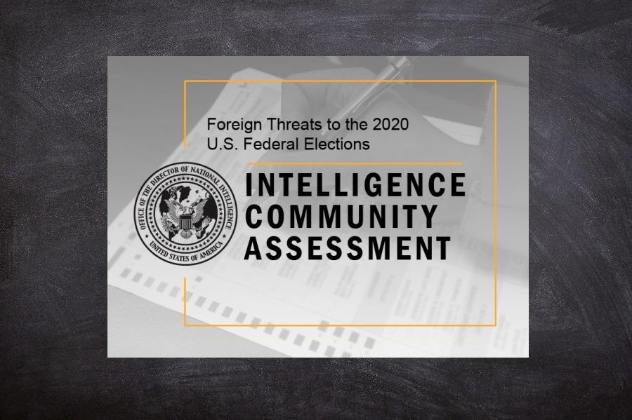 Zahraničné hrozby pre federálne voľby v USA v roku 2020 (Foreign Threats to the 2020 U.S. Federal Elections)
